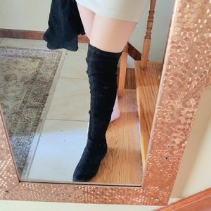 Over the Knee thigh XOXO boots!